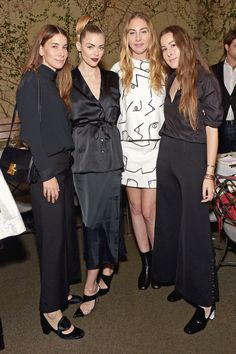Haim and Jaime King show you how to stand out in black and white