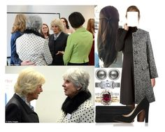 """""""Visiting the national charity SafeLives with her stepmother and meeting members of the organisation"""" by marywindsor ❤ liked on Polyvore featuring Dolce&Gabbana, Lauren Merkin, L.K.Bennett, Astley Clarke, Cartier, women's clothing, women, female, woman and misses"""