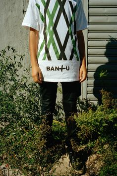 Bantu steps on dry land with their Logomania T-shirt collection
