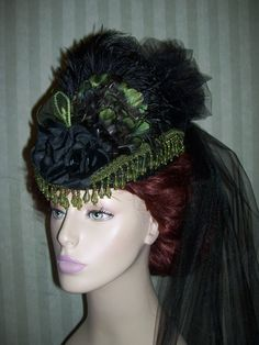 Posts about mini top hat written by Dawn Victorian Hats, Victorian Fashion, Steampunk Fashion Women, Gothic Fashion, Fashion Fashion, Riding Hats, Steampunk Hat, Mad Hatter Hats, Fancy Hats