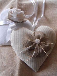 coeur en lin
