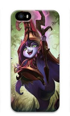 Lulu League of Legends Game iPhone 5 5S Case Cover