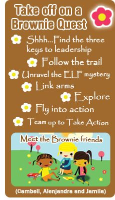 Brownie Quest Journey outline - this is a bit dated (refers to Try-Its) but is a well-thought out, concise approach to doing this journey.