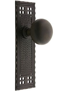 1000 images about arts and crafts doorknobs on pinterest for Arts and crafts exterior door hardware