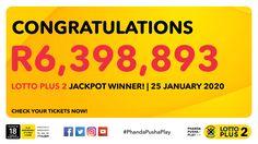 Ithuba National Lottery | Home Jackpot Winners, National Lottery, Congratulations