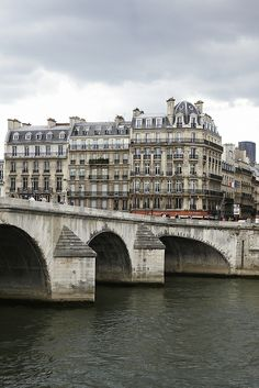 Paris - across the Seine
