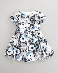 Helena Floral-Print Dress