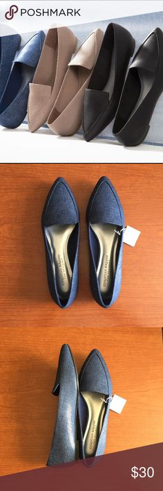 """TAKE 30% OFF Blue Pointed Loafers•Christian Sirian Beautiful pointed flats that can make any outfit interesting!  Has a comfortable footbed. TAKE 30% OFF ANY ITEM IN MY CLOSET IN CELEBRATION OF MOTHER'S DAY. SIMPLY COMMENT THE CODE """"MOTHER30"""" AND I WILL APPLY THE DISCOUNT. Christian Siriano Shoes Flats & Loafers"""