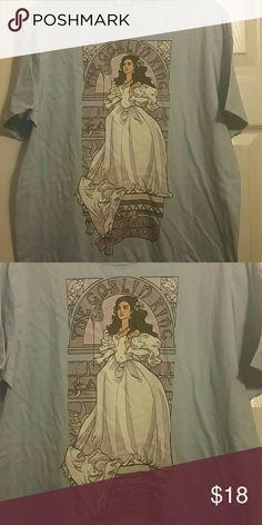 Labyrinth Tshirt Labyrinth light blue shirt. NWOT, unisex, nouveau style. Hot Topic Tops Tees - Short Sleeve