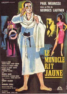 le monocle rit jaune 1964 Francomac™: Paul Meurisse