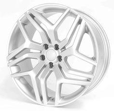 4 x 20  New Alloy Wheels Range Rover Style Evoque Freelander 5x108 Silver **save on Tyres 01392 20 30 51 **