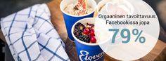 Elovena - Huolenpitoa ja kampanjointia. Grapevine on rakentanut Elovenan brändiä verkossa jo vuosien ajan! Houkuttelevia reseptejä, innostavia tuoteuutuuksia ja ajankohtaisia uutisia puurotrendien maailmasta – Elovena on kiinni ajassa Facebookissa. Monta vuotta jatkuneella huolenpidolla ja sisällöntuotannolla olemme luoneet Elovenan ystäville yhteisen kohtaamispaikan Facebookiin. Grape Vines, Facebook, Projects, Log Projects, Blue Prints, Vineyard Vines, Vines