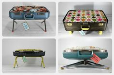 repurposed luggage | pet beds made from upcycled repurposed luggage suitcases samsonite
