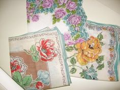 Collecting Vintage Hankies? It's Nothing to Sneeze At ~ The Thrift Shop Romantic