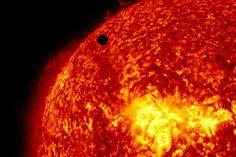 Venus Transit Across The Sun 5/6/2012