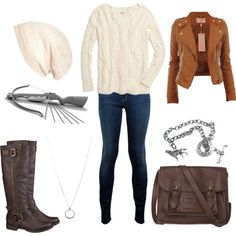 Allison Argent (TW), created by ginader on Polyvore