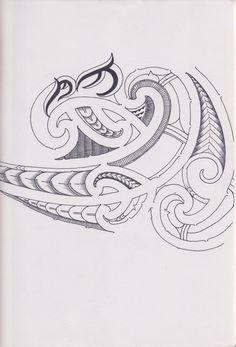 Maori Tattoo by bloodempire on DeviantArt Tribal Tattoos For Women, Hawaiian Tribal Tattoos, Tattoos For Guys, Polynesian Tattoo Designs, Maori Tattoo Designs, Maori Tattoos, Tattos, Maori Patterns, Filipino Tattoos