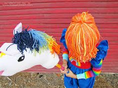 scrap yarn knit horse - Google Search