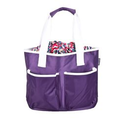 Casual Mindy, the go-to beach bag. Comes with a colorful inner lining that will put a smile on your face all the time! #casualmindy #bag #purple $24.69