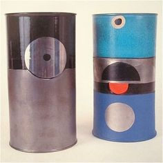 Early Ettore Sottsass ceramics, 1963