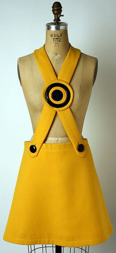 "Historical fashion # 1- ""Miniskirt"".. By Pierre Cardin.. 1969.."
