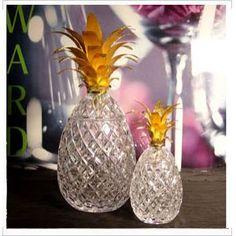 William Yeoward Crystal  Isadora Pineapple Centerpieces