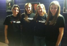 Students in UnleashedPR at Boston University promoting Wiggio on campus