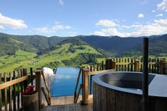 View from luxury chalet in Leogang, Bergdorf Priesteregg#ultimate rustic charm# amazing alpine lifestyle in Austria