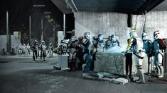 Offensive at Troska by SideZeo on DeviantArt Star Wars Characters Pictures, Star Wars Pictures, Star Wars Images, Star Wars Rpg, Star Wars Fan Art, Star Wars Clone Wars, Guerra Dos Clones, Starwars, Galactic Republic