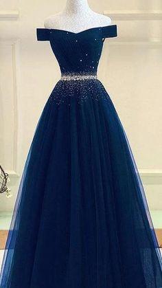 Pretty Prom Dresses, Prom Dresses Blue, Elegant Dresses, Homecoming Dresses, Cute Dresses, Formal Dresses, Bridesmaid Dresses, Blue Evening Dresses, Long Prom Gowns