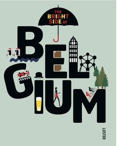 The Bright Side Of Belgium | Sigrid Vandensavel | Hardcover (ENG)  Cosmox.be