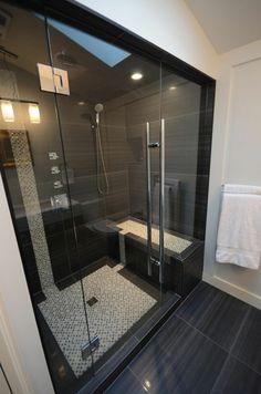 walk in Duschkabine ganz modern als verschiedene Fliesen Badezimmer Beispiele