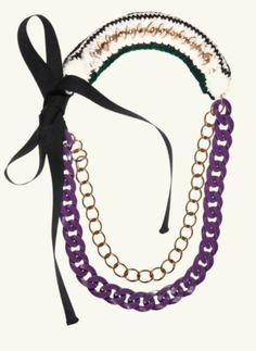 Designer #Crochet #Fashion Accessories: Marni