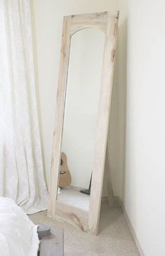 How to: Arched Floor Mirror with Freestanding Option - Hazel Darling