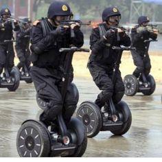 Chinese cops.. Bahaha