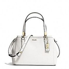 Coach :: MADISON MINI CHRISTIE CARRYALL IN SAFFIANO LEATHER