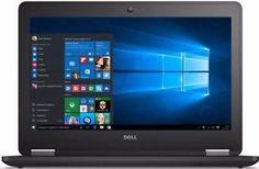 a dell latitude e7270 125 i7 6600u 8gb ddr4 256gb ssd windows 10 pro touchscreen