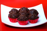 Chocolate Fudge Truffles - Brigadeiros