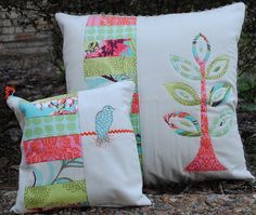Pillow and Pouch from Nanotchka in the SSM Swap | Flickr - Photo Sharing!