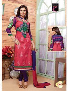 StarMart Women's Cotton Unstitched Salwar Kameez Dress Material-8206 StarMart http://www.amazon.in/dp/B01AD7531U/ref=cm_sw_r_pi_dp_bVp-wb0MADDE5