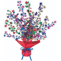 Multi Color Star Gleam \'N Burst Centerpiece