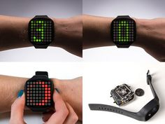 LED DIY Watch Kit by TheBusyRobot