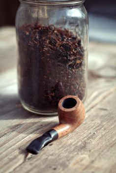 Pipe and custom pipe tobacco.  Enjoy your pipes!  Goodfellas Cigar Shop