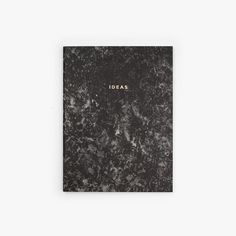 STONE PAPER NOTEBOOK 'CHARCOAL'