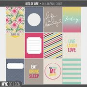 Bits of Life | Journal Cards