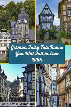 German Fairy Tale Towns - The Prettiest Cities in Germany The fairytale towns in Germany can't be missed. Travel writers and locals pick the prettiest towns in Germany. Road Trip Europe, Europe Travel Guide, Travel Guides, Travelling Europe, Traveling, European Travel Tips, European Destination, Cities In Germany, Germany Travel