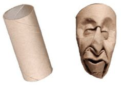 upcycled art from cardboard & toilet paper rolls - The Alternative Consumer Paper Towel Crafts, Paper Towel Rolls, Toilet Paper Roll Crafts, Cardboard Sculpture, Cardboard Art, Cardboard Playhouse, Toilet Paper Roll Art, Recycled Art, Art Plastique
