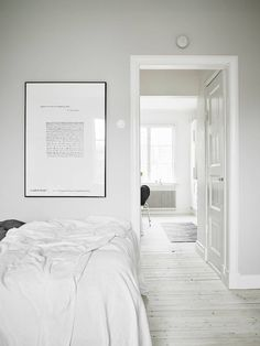 'Minimal Interior Design Inspiration' is a biweekly showcase of some of the most perfectly minimal interior design examples that we've found around the web - Home Interior, Interior Architecture, Interior Decorating, Decorating Ideas, Interior Design Examples, Interior Design Inspiration, Bedroom Inspiration, Home Bedroom, Bedroom Decor