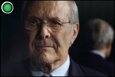 The Unknown Known documentary review: let Rumsfeld tell you his evil plan. New on DVD in the US today. Still available on demand, too.