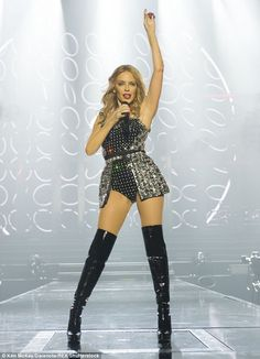 Imminent: The 49-year-old singer's Golden Tour will kick off at the Metro Radio Arena in Newcastle on September 18